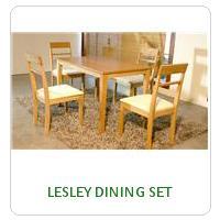 LESLEY DINING SET